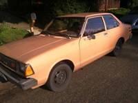 1981 Two Door Sedan