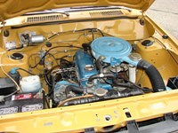 datsun b210 engine