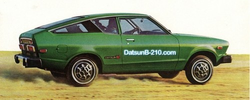 DatsunB-210.com Logo