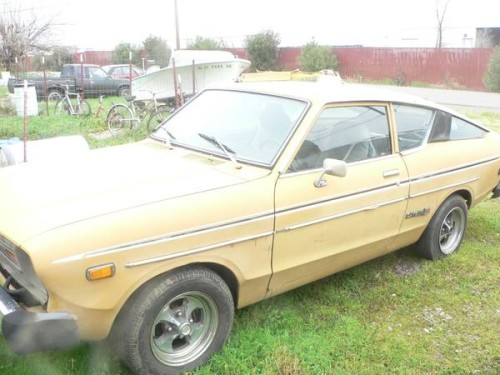 1977 Datsun B210 Hatchback Coupe For Sale in Redding