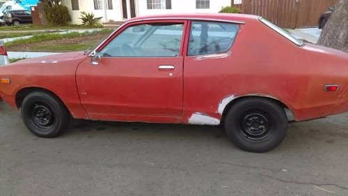 Craigslist Classifieds Los Angeles >> 1978 Datsun B210 Hatchback Coupe For Sale in Los Angeles, California