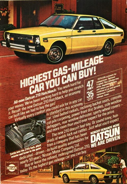 Datsun B-210 Nameplate Overivew & History | Key Facts