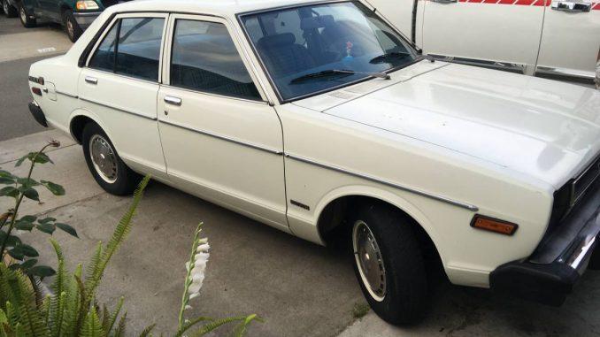 1979 Datsun B210 Four Door Sedan For Sale In Financial District New York